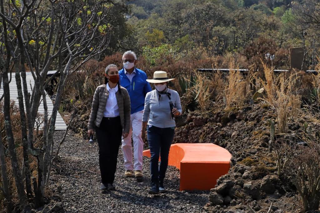 Entrega Gobierno capitalino segunda etapa de rehabilitación del Parque Ecológico de la Ciudad de México