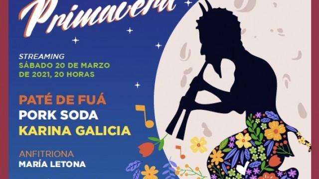 Festival Noche de Primavera 2021 será virtual