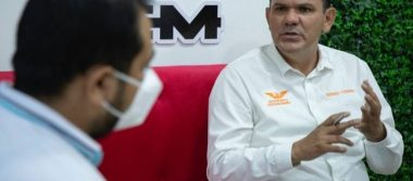 Vamos a ganar la gubernatura; no andamos jugando: Sergio Torres