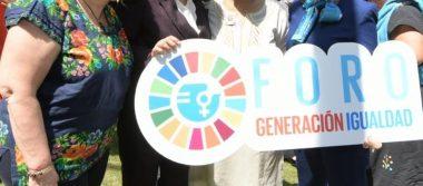 Ante titular de ONU Mujeres, Secretaria Sandoval Ballesteros expone avances por la igualdad de género en el servicio público