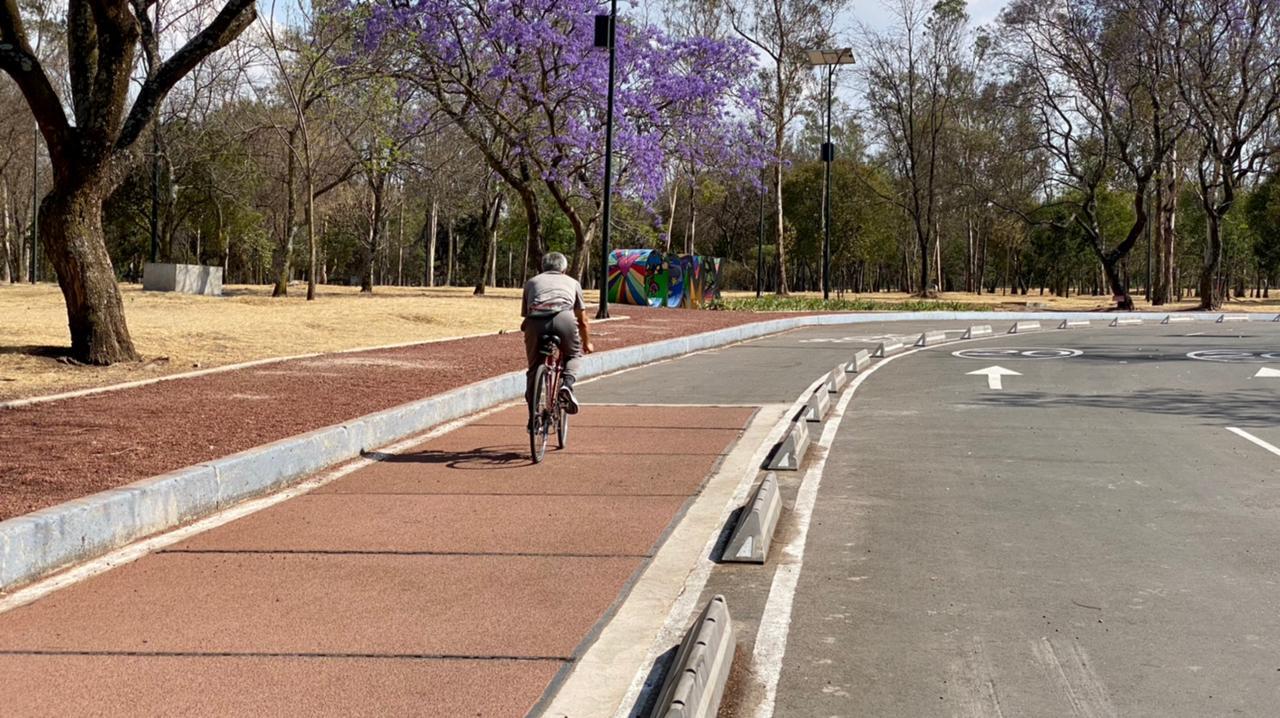 Inauguran en el Bosque de Chapultepec ciclovía inteligente