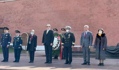 Concluye la visita de trabajo del canciller Ebrard a Rusia
