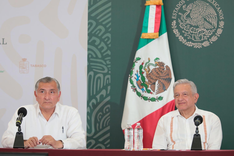 Entrega de enseres domésticos en Tabasco se suspenderá por respeto a la veda electoral: AMLO