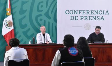 Se libera lote de vacunas envasadas en México