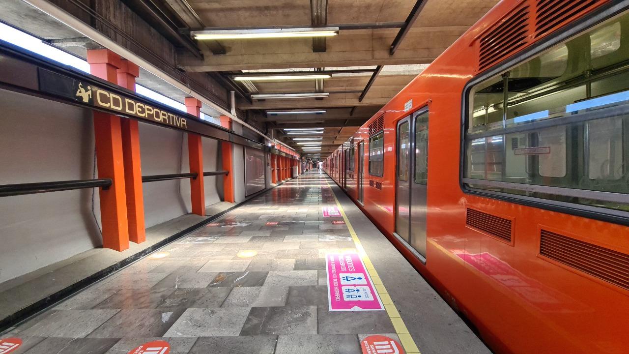 Concluyen labores de mantenimiento en la linea 12 del metro, ya funcionan sus 12 estaciones.