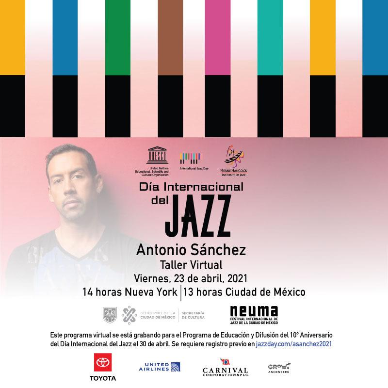 Cuarta edición de Festival Internacional de Jazz de CDMX será virtual