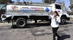 Condona Gobierno capitalino al 100 por ciento el pago de agua en 72 colonias de la Alcaldía Iztapalapa