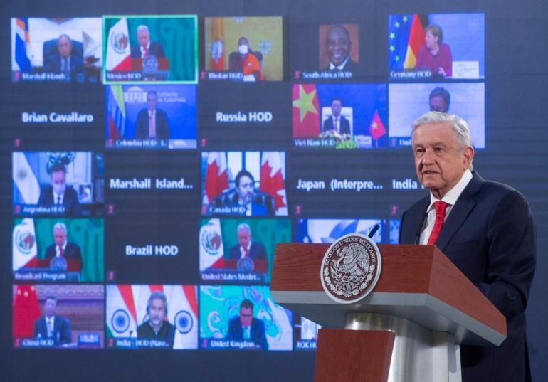 Presidente participa en la Cumbre de Líderes sobre el Cambio Climático