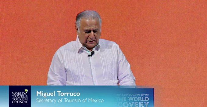 Secretario de Turismo participó en la inauguración de la Vigésima Cumbre del Consejo Mundial de Viajes y Turismo
