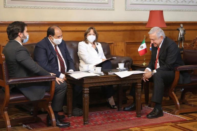 Presidente agradece al gobierno de Cuba solidaridad con México durante la pandemia de COVID-19