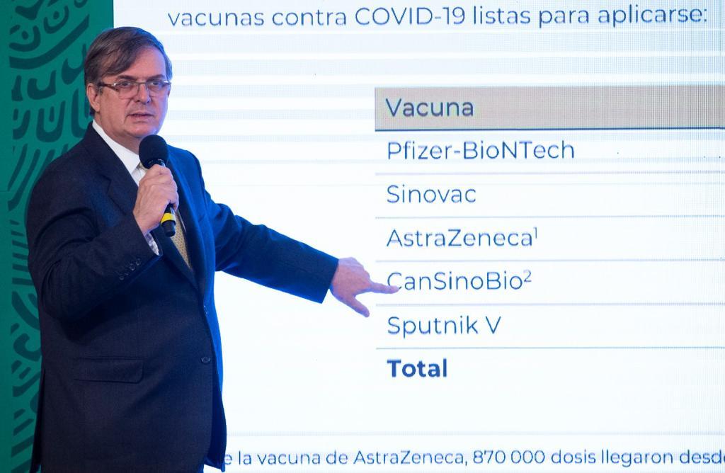 El canciller realizará viajes al extranjero para garantizar que se cumplan los compromisos firmados en adquisición de vacunas