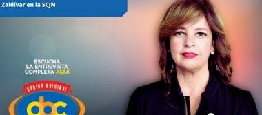 Extender el mandato del presidente de la SCJN, Arturo Zaldívar, es inconstitucional: Lorena Villavicencio