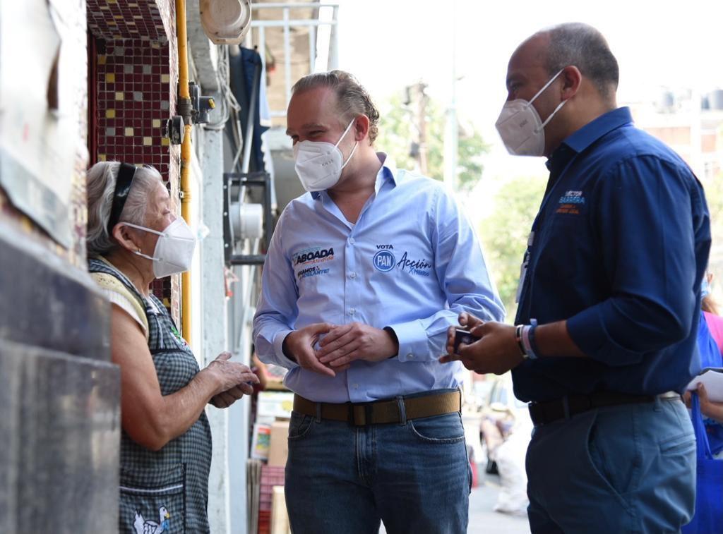 Vecinas y vecinos de Portales Norte expresan su apoyo a Santiago Taboada para seguir siendo la diferencia en la CDMX