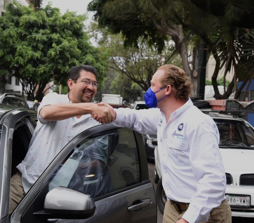 """""""En esta colonia nuestro voto será para el PAN"""": vecina de la colonia Piedad Narvarte"""