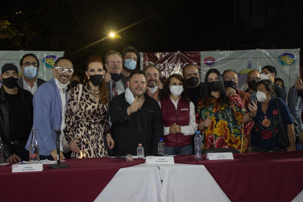 Rodrigo de la Cadena por la Cultura en la Alcaldía Cuauhtémoc