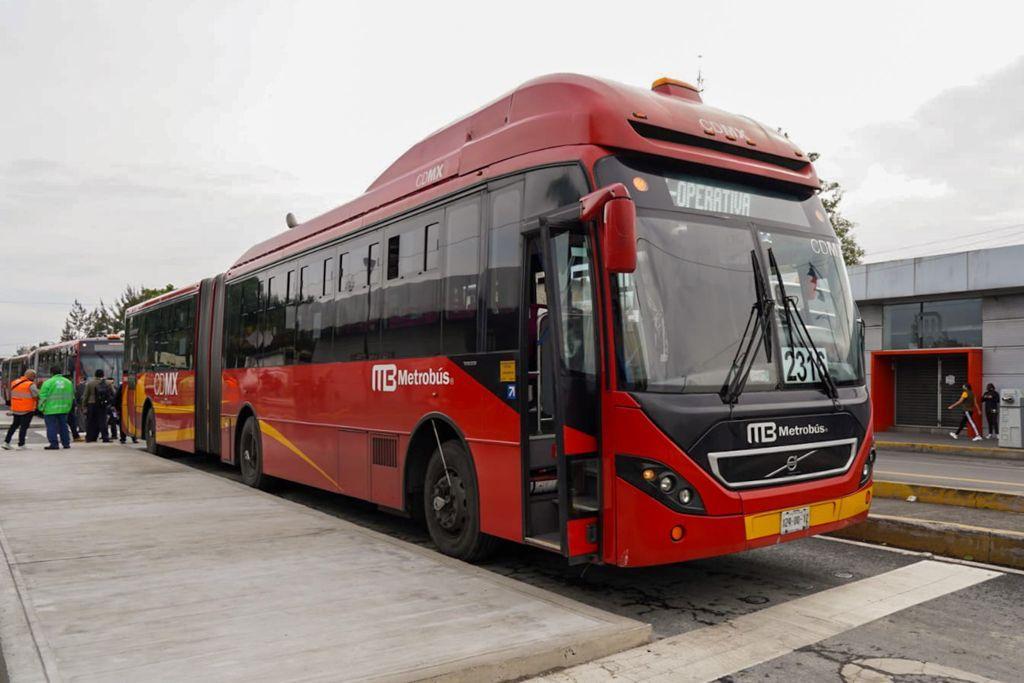 Prepara Gobierno de la Ciudad de México operación emergente de Metrobús como apoyo a la movilidad de usuarios de la Línea 12