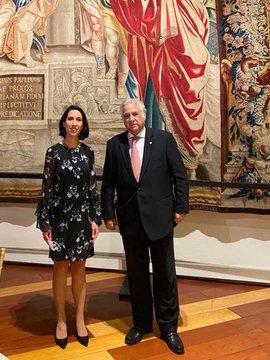 Realiza secretario de turismo viaje de trabajo a España para asistir a FITUR 2021