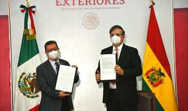 Se llevó a cabo ceremonia oficial para entrada en vigor de supresión de visas con Bolivia