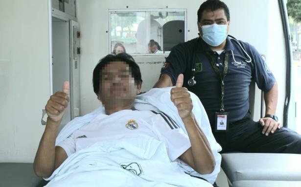 Egresan del Hospital de Traumatología del IMSS dos pacientes atendidos tras accidente en Línea 12 del Metro