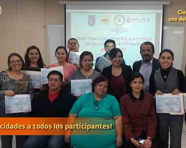 Obtiene IPN certificación internacional por enseñanza del curso ATLAS.ti.