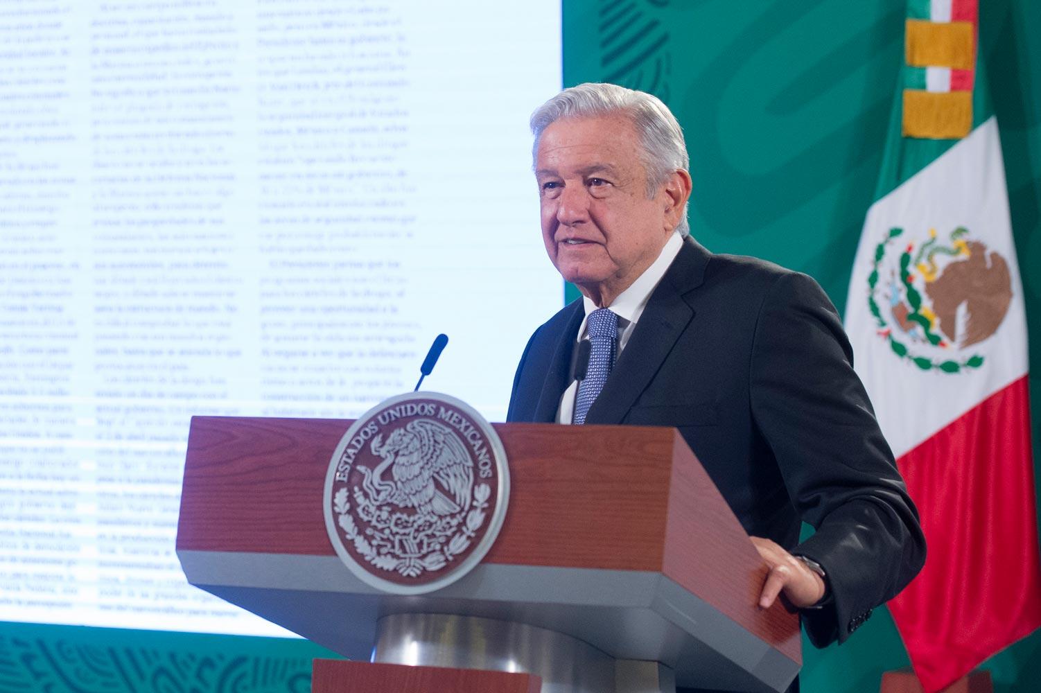 El presidente expresó su pésame y solidaridad a los familiares de las víctimas del accidente en la Línea 12, aseguró que no se va a ocultar absolutamente nada.