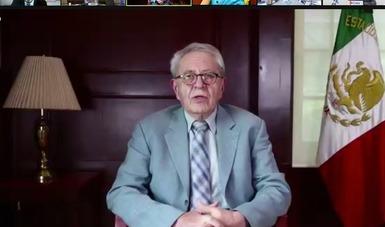 Acceso equitativo a vacunas contra COVID-19, propone México en Asamblea Mundial de la Salud