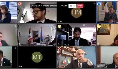 México y Ucrania celebran la VI Reunión del Mecanismo de Consultas Políticas