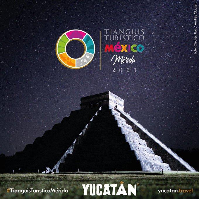 El Tianguis Turístico 2021 se llevará a cabo del 21 al 24 de noviembre en Mérida