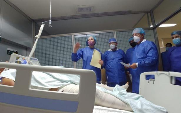 Supervisan atención médica a pacientes hospitalizados en Magdalena de las Salinas por accidente en Línea 12 del Metro