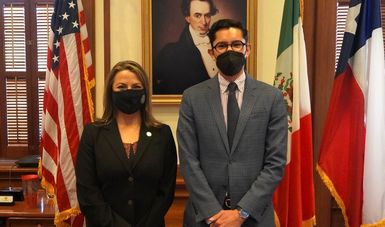 Concluye director general para América del Norte visita de trabajo al estado de Texas