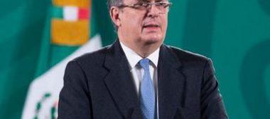 El secretario Marcelo Ebrard conversó con el secretario de Seguridad Nacional de Estados Unidos, Alejandro Mayorkas.