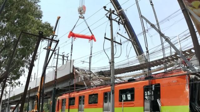 Informa Gobierno capitalino avance del 89 por ciento en inspección estructural del tramo elevado de la Línea 12