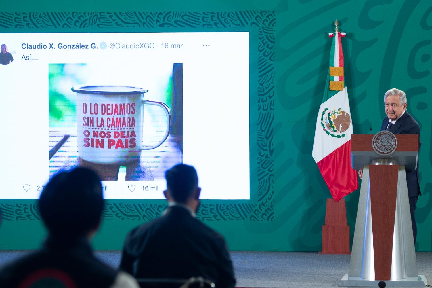 Con nota diplomática AMLO pide a  EU aclarar financiamiento a Mexicanos Contra la Corrupción