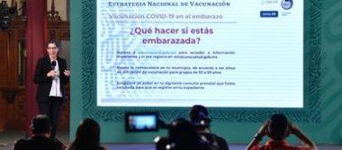 Para reducir mortalidad materna, mujeres embarazadas recibirán vacuna contra COVID-19