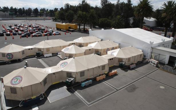 Hospital de Expansión del IMSS en el Autódromo Hermanos Rodríguez cumple un año al servicio de México