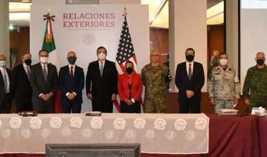 Autoridades de México y Estados Unidos celebran diálogo de alto nivel sobre nueva estrategia de seguridad