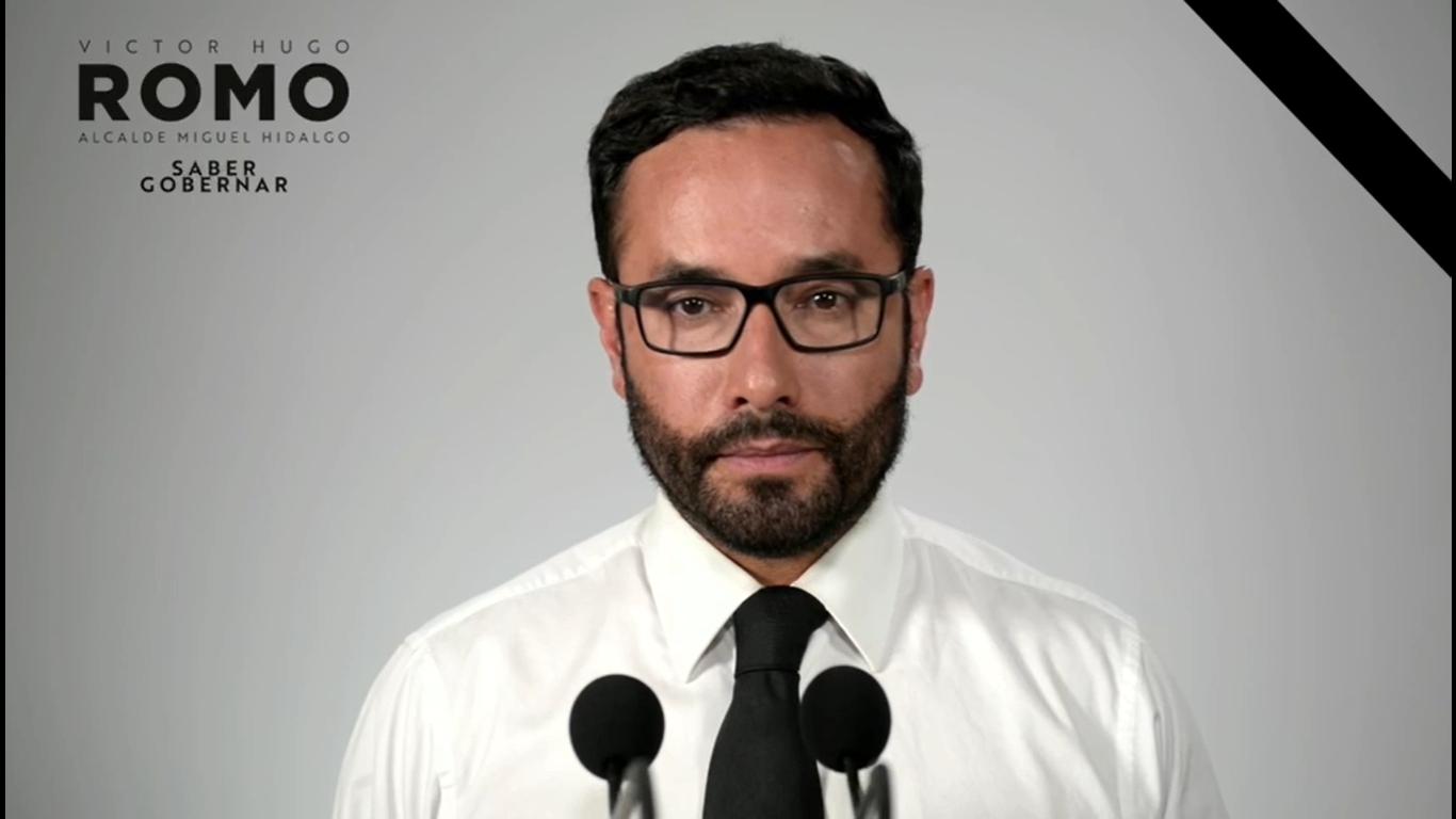 Romo se suma al luto nacional y suspende actividades de campaña