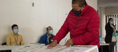 IECM realiza Simulacro del proceso electoral del próximo 6 de junio con medidas sanitarias por COVID – 19