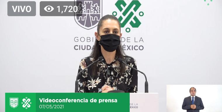 Ciudad de México pasa a color amarillo en el Semáforo de Riesgo Epidemiológico