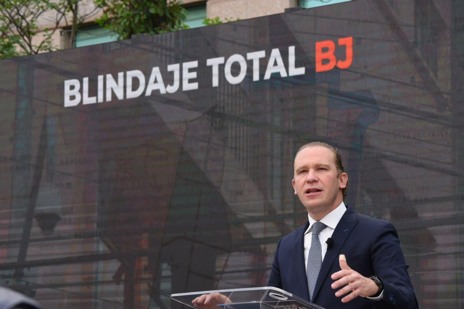 Blindaje Total para BJ propuesta en Seguridad de Santiago Taboada, candidato del PAN a la Alcaldía Benito Juárez