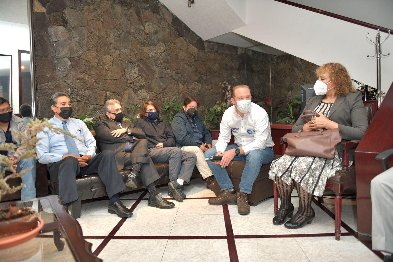 Líderes de la iglesia cristiana respaldaron la continuidad de Santiago Taboada en la Alcaldía Benito Juárez