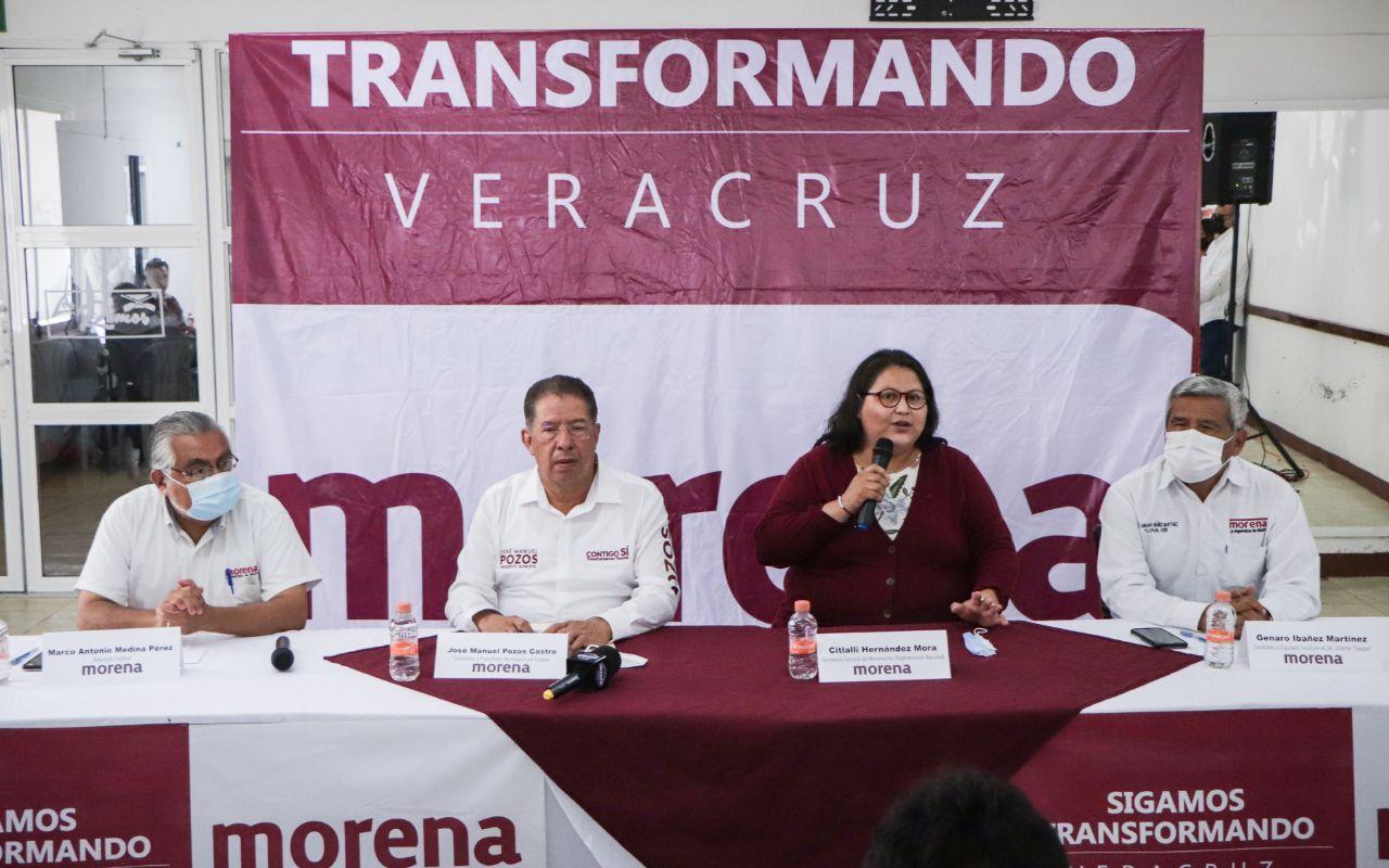 Llama Citlalli Hernández a cerrar filas rumbo a las próximas elecciones