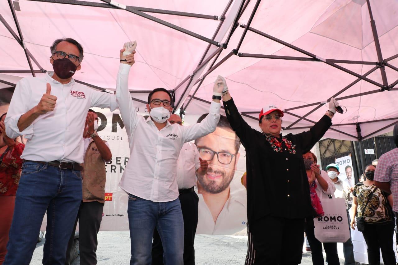 Candidata desciende de Miguel Hidalgo se suma a campaña de Romo