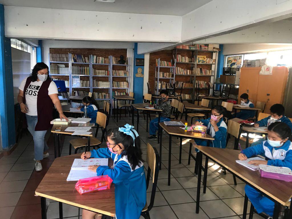 Regresaron a clases presenciales más de 1.6 millones de alumnos de todos los niveles educativos