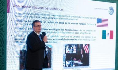 Cooperación entre México y Estados Unidos suma una nueva vacuna al portafolio mexicano