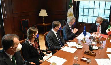 Autoridades de Salud sostienen encuentro con representantes de la Unión Europea
