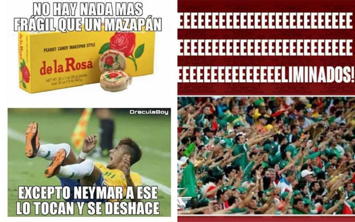 Neymar, la estrella de los memes tras la derrota de México ante Brasil