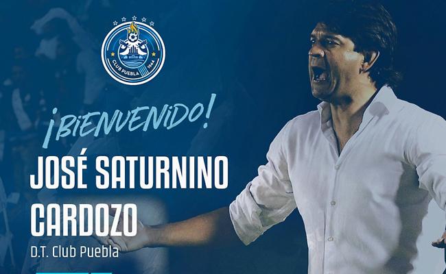 José Cardozo nuevo director técnico del Club Puebla