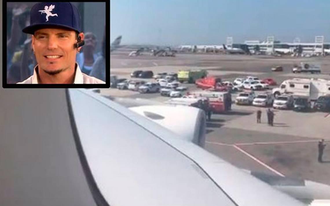 Vanilla Ice, atrapado en el avión con pasajeros en cuarentena en NY