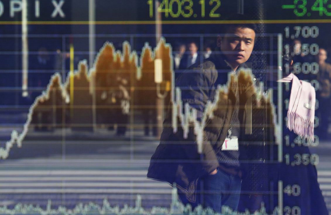 Bolsas de Asia reaccionan con altibajos ante fuerte subida del crudo